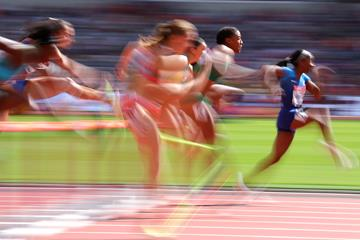 Athletes competing at the IAAF World Championships (Getty Images)