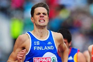 Niclas Sandells at the European Championships in Helsinki (Getty Images)