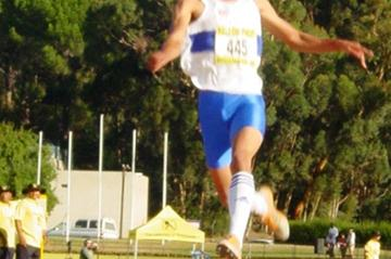 Keenan Watson in action at the South African Championships (Mark Ouma)