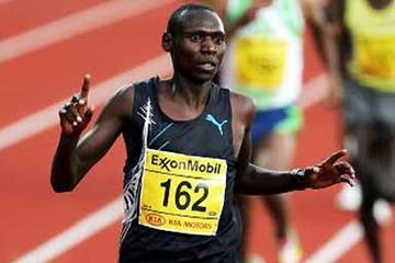 Isaac Songok of Kenya completes a comprehensive win over Bekele in Oslo (Getty Images)