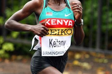 Kenya's Mary Keitany during the IAAF/EDF Energy World Half Marathon Championships in Birmingham (Getty Images)