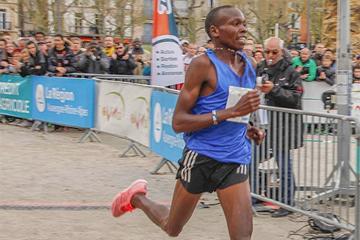 Kenyan distance runner Mathew Kipkorir Kimeli (Organisers)