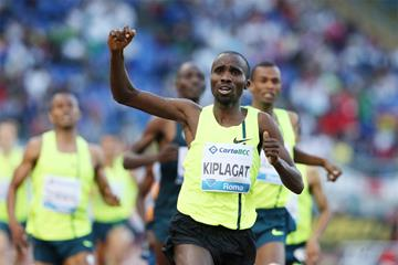 Silas Kiplagat wins the men's 1500m at the IAAF Diamond League meeting in Rome (Gladys Chai von der Laage)