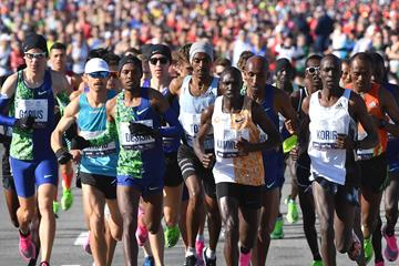 Runners at the New York City Marathon (AFP/Getty Images)