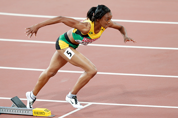 Christine Day of Jamaica in the 400m at the IAAF World Championships Beijing 2015 (Getty Images)