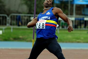 Arley Ibargüen unleashes his 81.07m Colombian record in Lima (Eduardo Biscayart)
