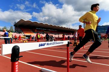 Athletes training ahead of the IAAF World U20 Championships Tampere 2018 (Getty Images)