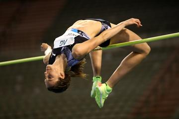 Nicola McDermott, winner of the high jump at the Diamond League meeting in Brussels (Getty Images)