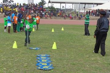 The launch of the  IAAF / Nestlé Kids' Athletics programme in Zambia  (ZAAA)