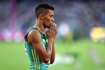 Wayde van Niekerk at the IAAF World Championships London 2017 (Getty Images)
