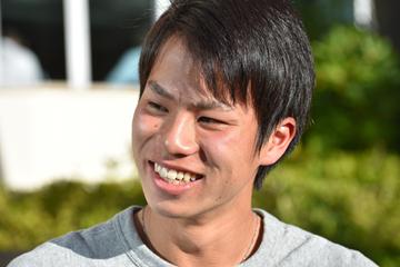 Japanese race walker Koki Ikeda (Jon Mulkeen)
