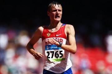 Valeriy Borchin, winner of the men's 20km walk (Getty Images)