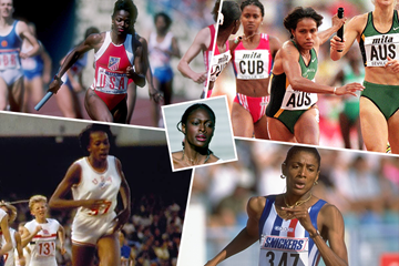 Chandra Cheeseborough's dream relay team (Getty Images)