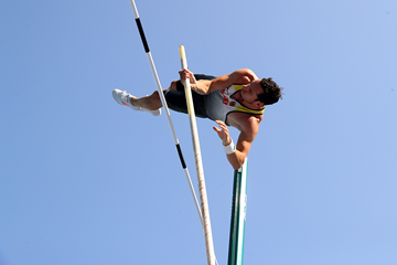 Kai Kazmirek in the decathlon pole vault at the Rio 2016 Olympic Games (Getty Images)