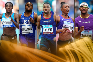 2018 World Athlete of the Year nominees - sprints and hurdles (Getty Images)