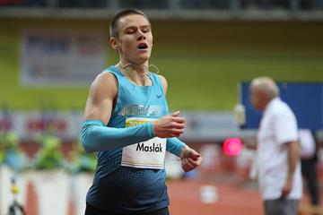 Another victory for Czech sprinter Pavel Maslak (Praha Indoor 2014 / Pavel Lebeda)