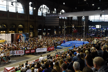 Action from the pole vault at the IAAF Diamond League meeting in Zurich (Mark Shearman)
