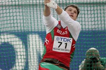 Ostapchuk (20.34m) and Devyatovskiy (82.94m ... - iaaf.org