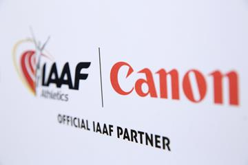 Canon, Official IAAF Partner of the IAAF World Athletics Series (Canon)