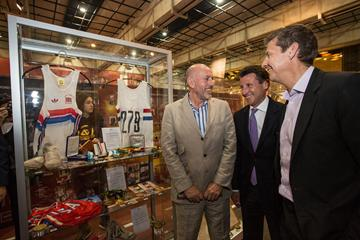 Ovett, Coe and Cram - IAAF Centenary Historic Exhibition (IAAF)