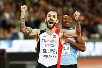 200m world champion Ramil Guliyev at the IAAF World Championships London 2017 (Getty Images)