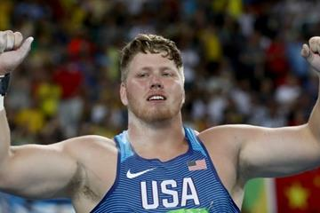 Ryan Crouser in the shot put at the Rio 2016 Olympic Games (Getty Images)