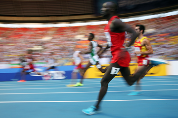 Action shot of the 800m (Getty Images)