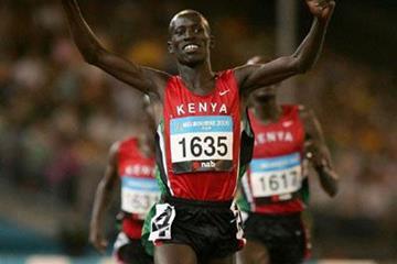 Ezekiel Kemboi - Steeplechase gold - Melbourne 2006 (Getty images)