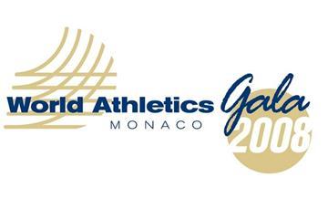 2008 World Athletics Gala Logo (IAAF.org)