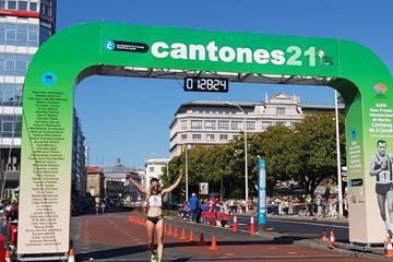Sandra Lorena Arenas wins in La Coruna (Almudena Miguez (FGA))