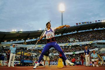 Jan Zelezny en route to bronze in Gothenburg (Getty Images)