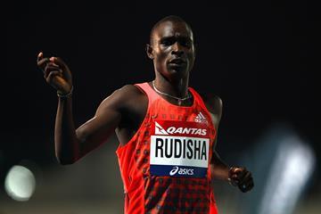 David Rudisha wins the 800m in Melbourne (Getty Images)