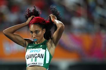 Dominique Duncan of Nigeria in Nassau (Getty Images)