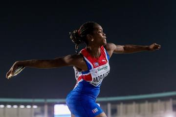 Silinda Morales in the discus at the IAAF World U18 Championships Nairobi 2017 (Getty Images)