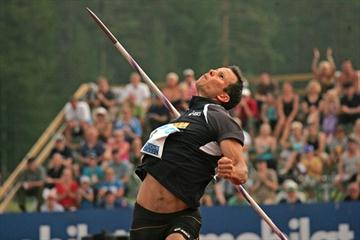 Tero Pitkamaki retakes the national title at the 2010 Finnish championships (Paula Noronen)