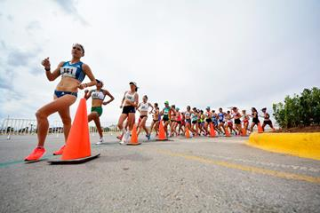 The women's 20km race in Chihuahua (Organisers)