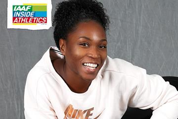 US long jumper Tianna Bartoletta (Giancarlo Colombo)