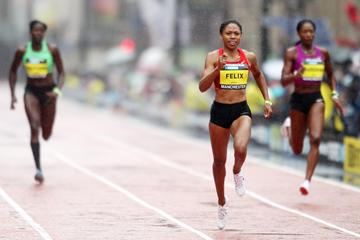 Allyson Felix at the Great City Games in Manchester (Getty Images)