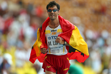 Spanish race walker Miguel Angel Lopez (Getty Images)