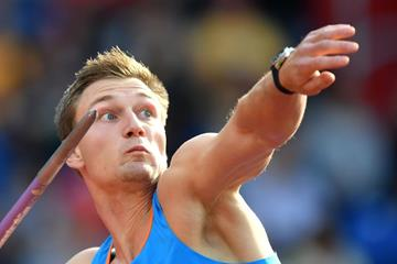 Thomas Rohler, Continental Cup javelin champion (Getty Images)