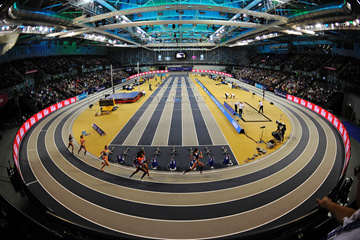 The Muller Indoor Grand Prix Glasgow at Emirates Arena (AFP / Getty Images)