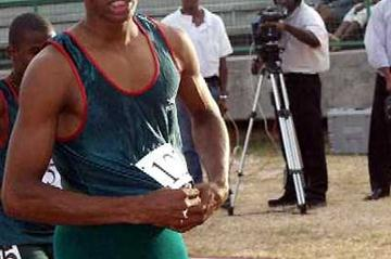 Joel Phillip of Grenada (16 years old) - CARIFTA Heptathlon winner (Finisterre)