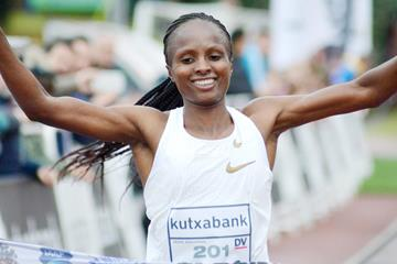 Hellen Obiri wins at the Cross Internacional Juan Muguerza in Elgoibar (Asociación ANOC)