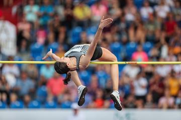 Mariya Lasitskene - 2.06m in Ostrava (Organisers)
