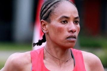 Alemitu Abera lowered the Houston Marathon record to 2:23:14 (Victah Sailer)