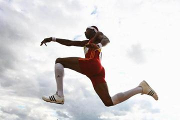Phillips Idowu leaps 17.58m at UK Olympic Trials (Getty Images)
