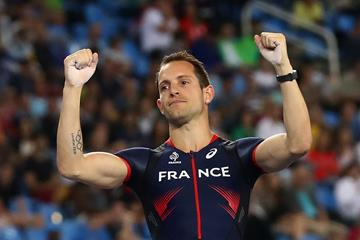 Renaud Lavillenie at the Rio 2016 Olympic Games (Getty Images)
