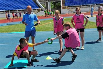 Kid's athletics in Ukraine (IAAF.org)