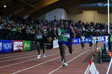 Another 3000m win for Getnet Wale, this time in Madrid (Dan Vernon)