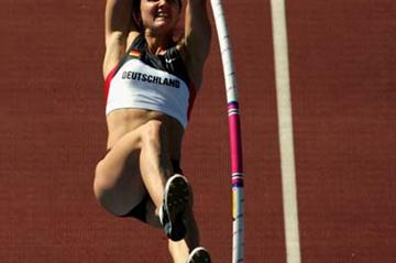 Caroline Hingst at the 2005 World Championships (Getty Images)